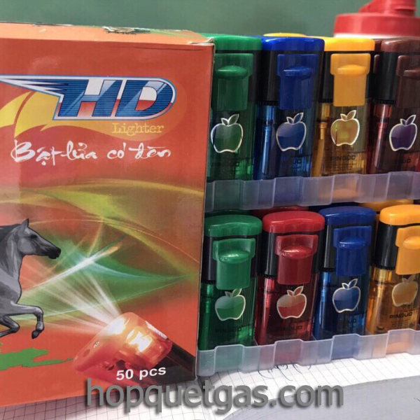 Quẹt gas khò đèn pin HD 190